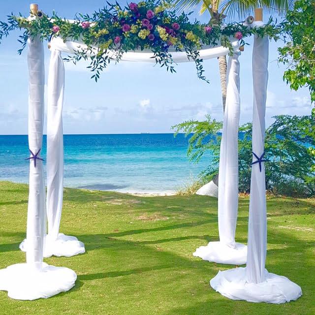 Bamboo Wedding Arch: Wedding Arches & Aisles