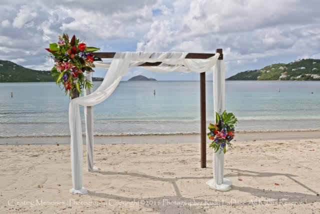 Wooden Wedding Arches 13