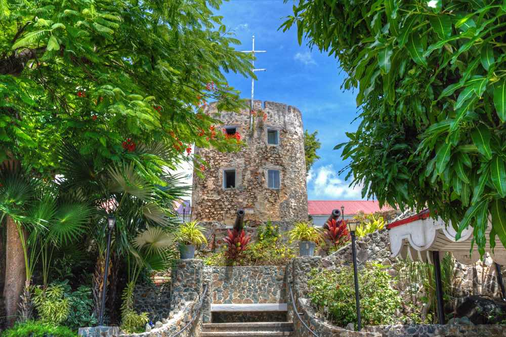 St Thomas Wedding Venue - Blue Beard's Castle