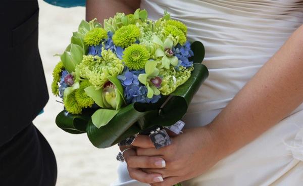 Tropical-bridal bouquet 2