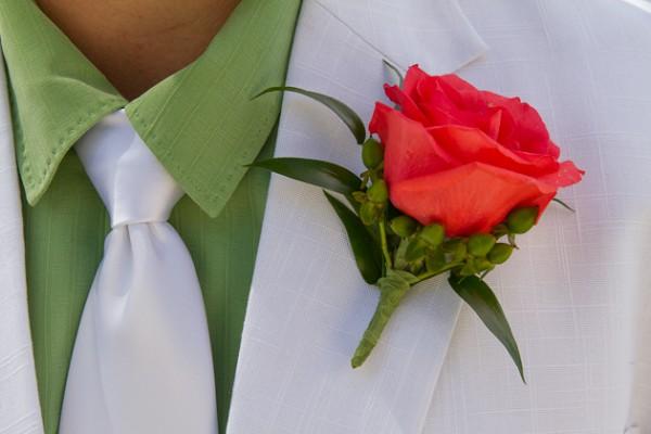 Wedding Groom Flowers