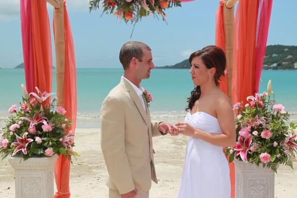 Beach Ceremony Flawless Weddings 1