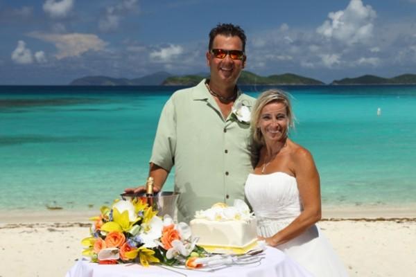 Flawless Wedding Newly Weds Tortola BVI
