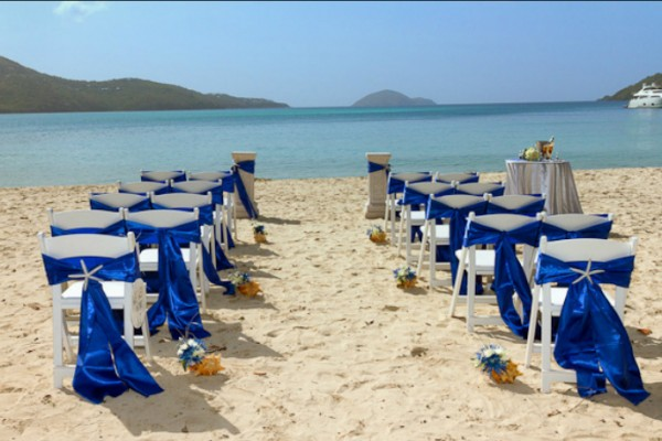 Magens Bay Beach St Thomas Wedding 2