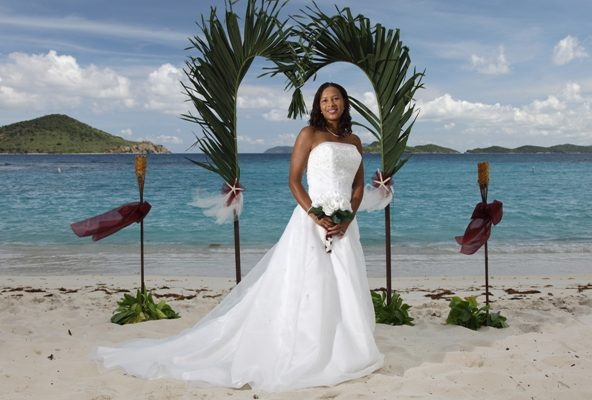 St Thomas Beach Wedding Lindquist Beach Flawless