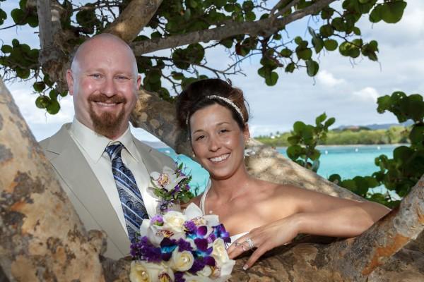 Wedding Newlyweds Island Wedding