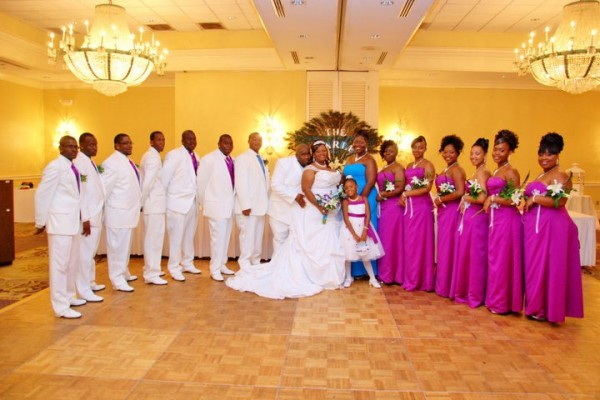 Wedding Party Flawless Wedding and Events