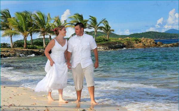 Wedding Walk on Beach