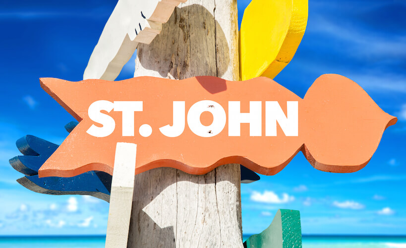 St. John All Inclusive beach wedding